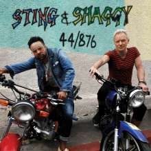 Sting & Shaggy: 44/876 (Limited-Edition) (Red Vinyl), LP