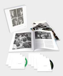 The Beatles: The Beatles (White Album) (Limited Numbered Super Deluxe Edition), 6 CDs, 1 Blu-ray Audio und 1 Buch