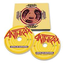 Anthrax: State Of Euphoria (30th-Anniversary-Edition), 2 CDs
