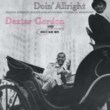 Dexter Gordon (1923-1990): Doin' Allright (remastered) (180g), LP