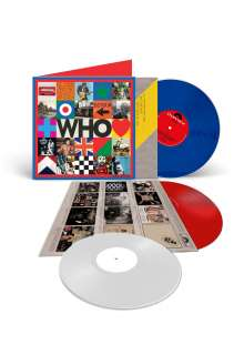 "The Who: Who (180g) (Limited Edition) (LP 1: Blue Vinyl/LP 2: White Vinyl/10"": Red Vinyl) (45 RPM), 2 LPs und 1 Single 10"""