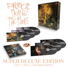 Prince: Sign O' The Times (remastered) (180g) (Super Deluxe Edition), 13 LPs und 1 DVD