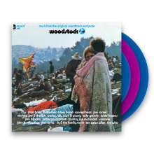 Woodstock - Music From The Original Soundtrack And More (Limited Edition) (Blue + Pink Vinyl), 3 LPs