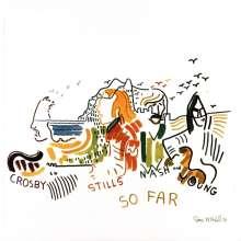 Crosby, Stills, Nash & Young: So Far (45th Anniversary) (Limited Edition) (White Vinyl), LP