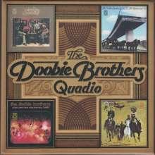 The Doobie Brothers: Quadio Box, 4 Blu-ray Audio