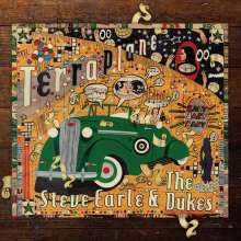 Steve Earle & The Dukes: Terraplane, 1 CD und 1 DVD