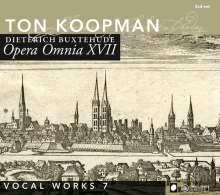 Dieterich Buxtehude (1637-1707): Opera Omnia XVII (Vokalwerke 7), 2 CDs