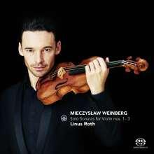 Mieczyslaw Weinberg (1919-1996): Sonaten für Violine solo Nr.1-3, Super Audio CD