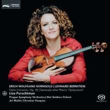 Erich Wolfgang Korngold (1897-1957): Violinkonzert op.35, Super Audio CD