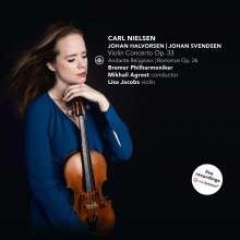 Lisa Jacobs - Nielsen / Halvorsen / Svendsen, CD