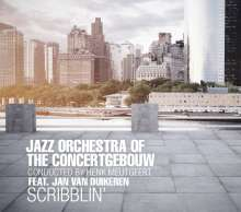 Jazz Orchestra Of The Concertgebouw: Scribblin', CD