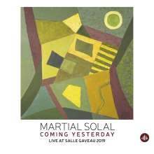 Martial Solal (geb. 1927): Coming Yesterday-Live At Salle Gaveau 2019, CD