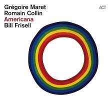 Gregoire Maret, Romain Collin & Bill Frisell: Americana, CD