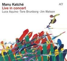 Manu Katché (geb. 1958): Live In Concert, CD