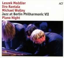 Iiro Rantala, Michael Wollny & Leszek Możdżer: Jazz At Berlin Philharmonic VII - Piano Night, CD