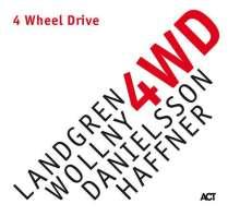 Nils Landgren, Michael Wollny, Lars Danielsson & Wolfgang Haffner: 4 Wheel Drive (180g), LP