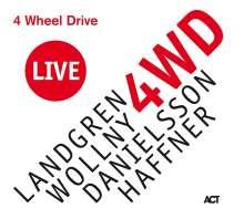 Nils Landgren, Michael Wollny, Lars Danielsson & Wolfgang Haffner: 4 Wheel Drive Live, CD
