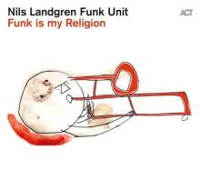Nils Landgren (geb. 1956): Funk Is My Religion (180g) (Limited Edition) (Transparent Red Vinyl), LP