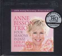 Anne Bisson (geb. 1967): Four Seasons In Jazz: Live At Bernie's (UHQ-CD) (Limited Numbered Edition), CD