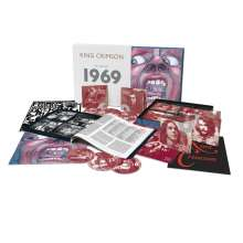 King Crimson: The Complete 1969 Recordings, 20 CDs, 1 DVD, 1 DVD-Audio, 1 Blu-ray Disc und 3 Blu-ray Audio