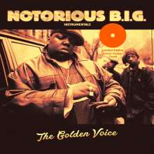 The Notorious B.I.G.: The Golden Voice (Instrumentals) (Limited Edition) (Orange Vinyl), 2 LPs