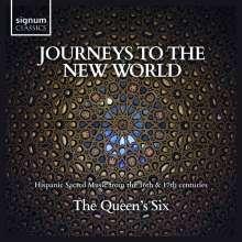 """Geistliche Musik aus Spanien (16. & 17. Jahrhundert) """"Journeys to the New World"""", CD"""