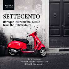 Settecento - Baroque Instrumental Music from the Italian States, CD
