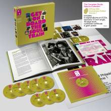 """Get On Board The Soul Train – The Sound Of Philadelphia International Records Volume 1 (Limited Edition) (Box Set), 8 CDs und 1 Single 12"""""""