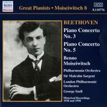 Ludwig van Beethoven (1770-1827): Klavierkonzerte Nr.3 & 5, CD