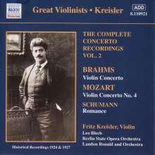 Fritz Kreisler - Complete Concerto Recordings Vol.2, CD