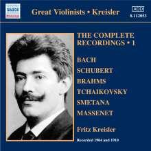 Fritz Kreisler - The Complete Recordings Vol.1, CD