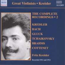 Fritz Kreisler - The Complete Recordings Vol.2, CD
