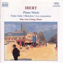 Jacques Ibert (1890-1962): Klaviermusik, CD