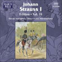 Johann Strauss I (1804-1849): Johann Strauss Edition Vol.10, CD