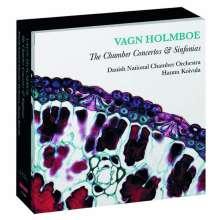 Vagn Holmboe (1909-1996): Sämtliche Kammerkonzerte Nr.1-13, 6 CDs
