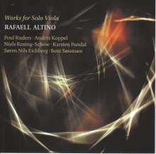 Rafaell Altino - Works for Solo Viola, CD