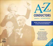 A-Z of Conductors (4 CDs & Buch), 4 CDs