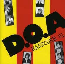 D.O.A.: Hardcore 81, CD