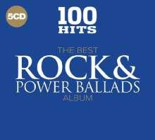 100 Hits: Best Rock & Power Ballads, 5 CDs