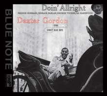 Dexter Gordon (1923-1990): Doin' Allright (XRCD), XRCD