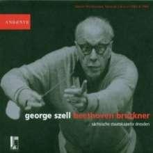 George Szell dirigiert Beethoven & Bruckner, 2 CDs
