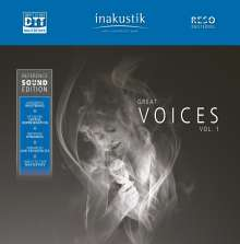 Great Voices Vol. 1 (inakustik Reference Sound Edition) (19cm/Sek.), Tonband