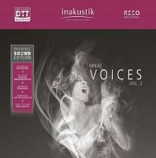 Great Voices Vol. 2 (inakustik Reference Sound Edition) (19cm/Sek.), Tonband