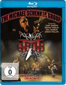 Michael Schenker: Live In Tokyo: The 30th Anniversary Concert 2010, Blu-ray Disc
