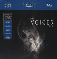 Reference Sound Edition: Great Voices Vol.1 (180g), 2 LPs