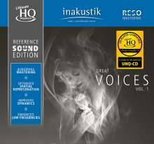 Reference Sound Edition: Great Voices Vol. 1 (UHQ-CD), CD