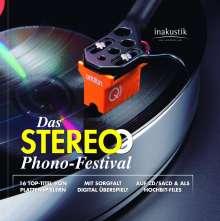 Das Stereo Phono-Festival, 1 Super Audio CD und 1 DVD-ROM