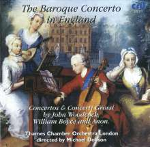 The Baroque Concerto in England, CD