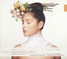Antonio Vivaldi (1678-1741): Concerti für Streicher Vol.2, CD
