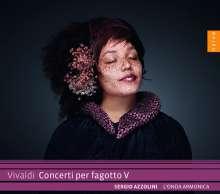 Antonio Vivaldi (1678-1741): Fagottkonzerte Vol.5, CD